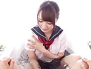 Nice Asian Teen Chick Hitomi Fujiwara In A Hot Amateur Pov Blowj