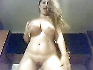 Busty Blonde Milf Shows Off Her Big Boobs And Soft Pussy On Webc