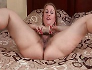 Big Ass Solo Milf Models Her Hairy Cunt