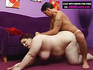 Bbw (Homepornwatchhd. Com) Bbw Red Hair Fucks With Giant Tits And