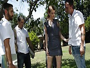 Misha Cross Doing An Outdoor Gang Bang With A Bunch Of Potheads
