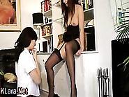 Mature Brit Stockings Hoe Licks