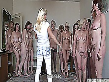 18 Matures Vs. 1 Boy Czech Harem 5 Part 1