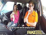 Italian Babe Is Getting Fucked In The Car Instead Of Learning Ho