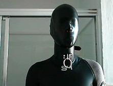 Wetsuit With Latex Mask