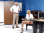 Call Centre Cock Featuring Madelyn Monroe - Big Tits At Work Hd