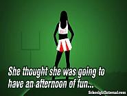 Slutty Schoolgirl Gets Pregnant From Creampie!