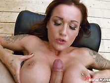 Naughty Babe Chantelle Fox Causes A Riot With The Police But The