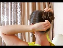 Super Sexy Hairjob And Cum In Hair,  Long Hair,  Hair