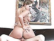 Voracious Light Haired Milf Nikki Sexx Rides A Cock