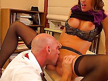 Office Banging With Johnny Sins And Kortney Kane Would Impress Y