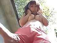 Redhead Japanese Teen Takes Cumshot After Riding A Thick Cock Ou