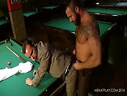 Jessy Ares And Gabriel Vanderloo Fuck On The Pool Table