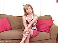 Lena F Is Nasty Mature Blonde Who Enjoys Masturbating In Front O