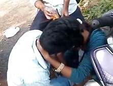 College Students Kissing Indian Outdoor Mms Scandals
