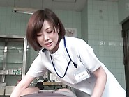 Cfnm-Japanese-Female-Doctor-Gives-Patient-Handjob