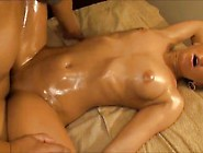 Tight Oiled Up Blonde Teen Fucked Hard & Creampied