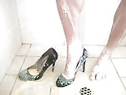 Heels,  Custard And Shower. Mp4