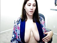 Bbw Huge Tits Flashing Tits & Playing With Pussy