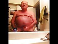 Bald Grandpa Cum