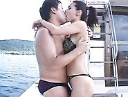 Stacked Asian Beauty Maria Ozawa Gets Fucked By Two Guys On The