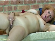 Granny With Big Sexy Titties Masturbates Lustily