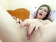 Webcam! Cam Girl Fingering Her Ass On Webcam