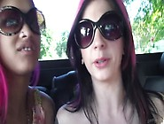 Joanna Angel And Skin Diamond Having Lesbian Sex While Traveling