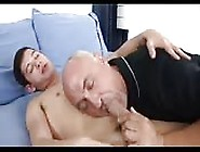 Fine Teen Getting His Dick Sucked By An Older Dude