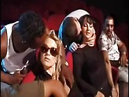 Federica Tommasi And Luna Lombardi In An Orgy At The Cinema