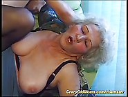 Horny Granny And A Young Boy From Her Neighborhood Are Having Fu