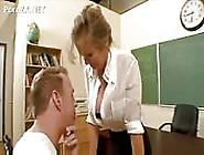 Vicious Teacher Seduces A Student's Father