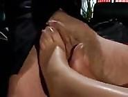 Goddess Older Woman Gives A Foot Job