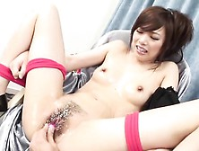 Lusty Fellow Delights Wicked Japanese Lass With Fingering