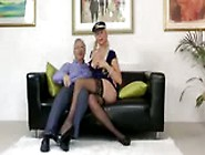 Babe Brit Stewardess Solo Masturbation