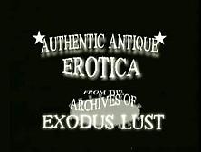 Vintage 1950's 1960's Authentic Antique Erotica 4 Xlx[455801]