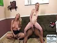 Milf Teachers Her Teen Daughter How To Enjoy A Bbc In This 3Way