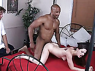 Freaky Dawg Sold His Brunette Sweetie To Black Stud For An Old C