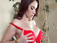 A Dude Undresses A Fine Brunette And Then He Fucks Her