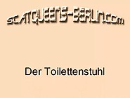 Scatqueens Berlin - 20062112 Der Toilettenstuhl (Scat Piss Pee M