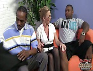 Slutty Cougar Jenna Covelli Is Fucked By Two Hot Tempered Black