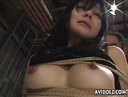 Japanese Cuties Enjoy Rough Bondage