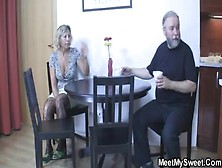Family Incest - Young And Old - Girl Friend Eats His Mom Cunt Th