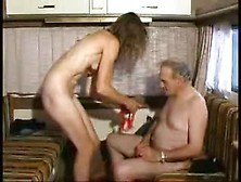 Young-Ish And Old Camper Sex