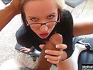 Pretty Bespectacled Blonde,  Candy Jones,  Gets Paired With The Bi