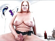 Luscious Shemale Holly Sweet Fires Jizz