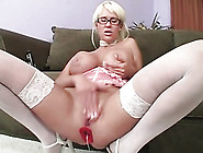 Big Titty Babe Fucked With A Toy In Her Ass