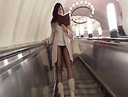 Jeny Cruz Subway Cooch Flash