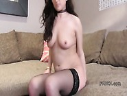 British Casting Agent Anal Bangs Brunette