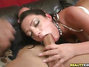 Bigtitted And Booty Dark Haired Is The Hell Of The Seductress